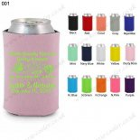 Dusty rode Neoprene personalized koozies can koozies 001