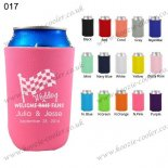 N.Pink can cooler beer soft fol