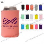 Coral wholesale neoprene can holder customizable 037