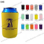 Yellow Multiple colors koozie cooler for sale 046