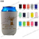 Gray best selling custom folding koozie 058