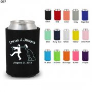 high quality koozie wedding can cooler 097