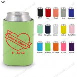Mint koozie wholesale neoprene can koozie 043