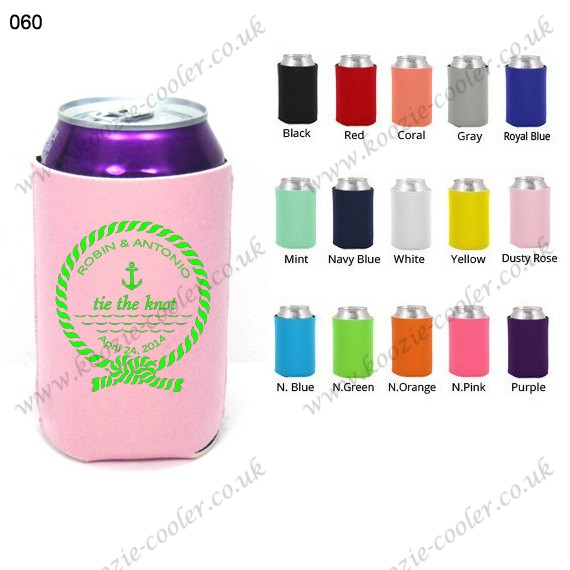 cheap pink can cooler bag for party 060 knot anchor