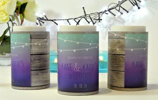 wedding favor personalized koozie