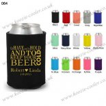 Black neoprene stubby holders f