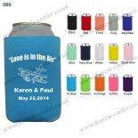 N.blue custom coozie beer cooler personalized 069