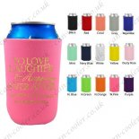 personalised holder can cooler custom