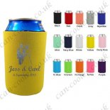 neoprene can cooler personalised gift