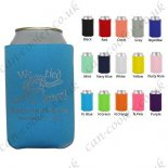 party favor can cooler customized