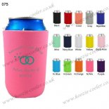 N.pink beer wine koozie holder