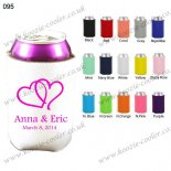 White funny color beer cooler s