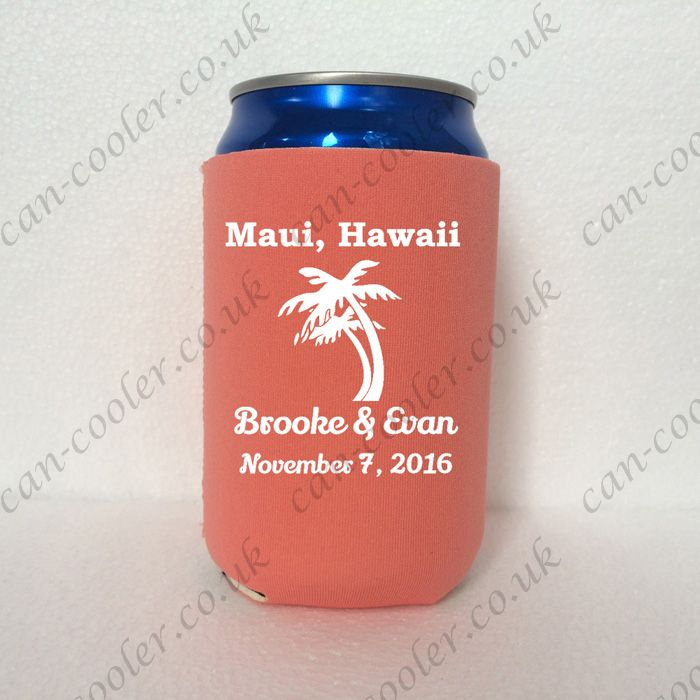 can cooler customized koozies for wedding koozie printing